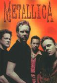 Metallica - 'Group Orange Background' Postcard